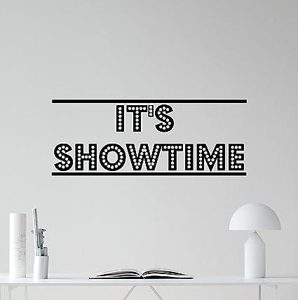 It\'s Showtime Wall Decal Film Strip Vinyl Sticker Home Cinema ...