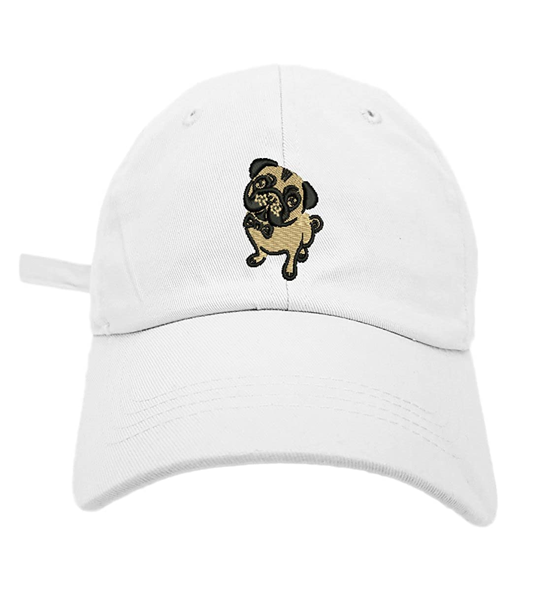 TheMonsta Pug Style Dad Hat Washed Cotton Polo Baseball Cap (Beige) at  Amazon Men s Clothing store  281e8fa75b8