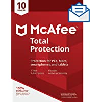 McAfee Total Protection 10 Device [Activation Code by Mail]
