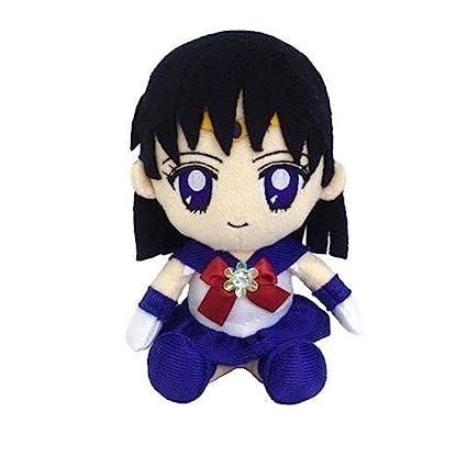 Bandai Sailor Moon Mini Plush Doll Cushion 2 Sailor Saturn