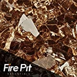 Fireglass 10-pound Fire Glass with Fireplace Glass and Fire Pit Glass, 1/4-inch, Copper For Sale