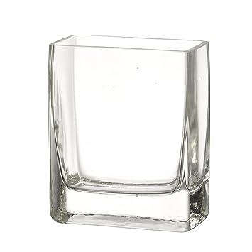 Chunky Rectangular Glass Flower Vase Simple Modern Amazon