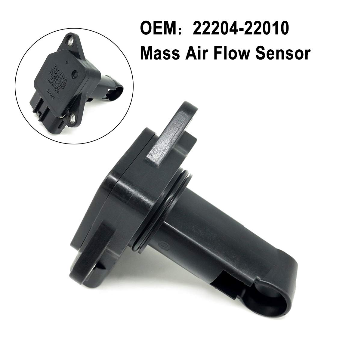 Original OEM 22204-22010 MAF Mass Air Flow Meter Sensor for Toyota Camry Lexus