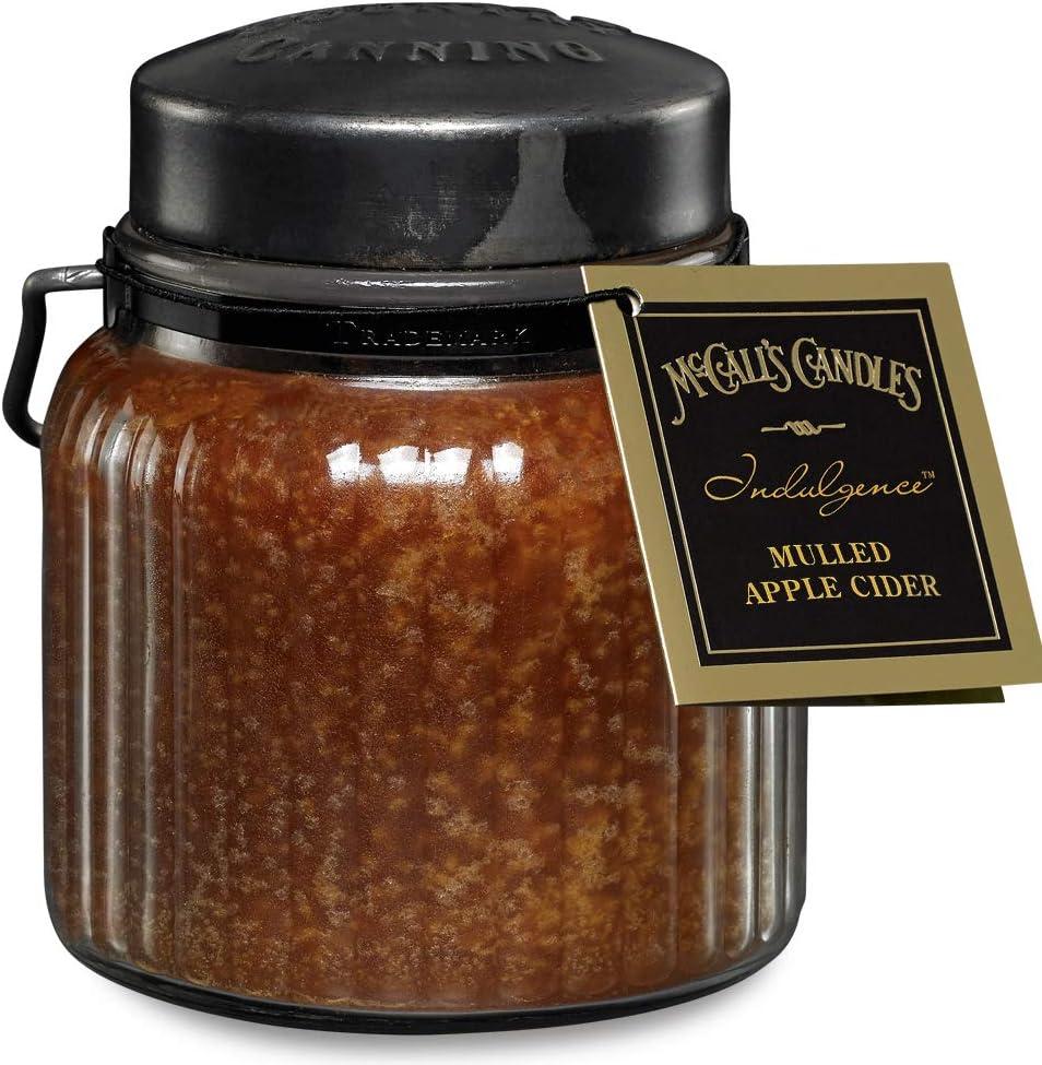 McCalls Candles Indulgence 18oz-Mulled Apple Cider