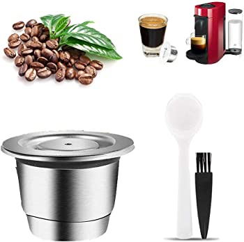 YHYH Stainless Steel Nespresso Refillable Capsule