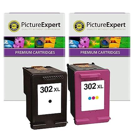 Picture Expert 302XL (F6U68AE / F6U67AE) - Cartuchos de tinta para ...