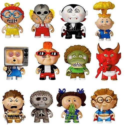 GARBAGE PAIL KIDS - 4'' Mystery Mini Figures - Complete Set of 12 Figures