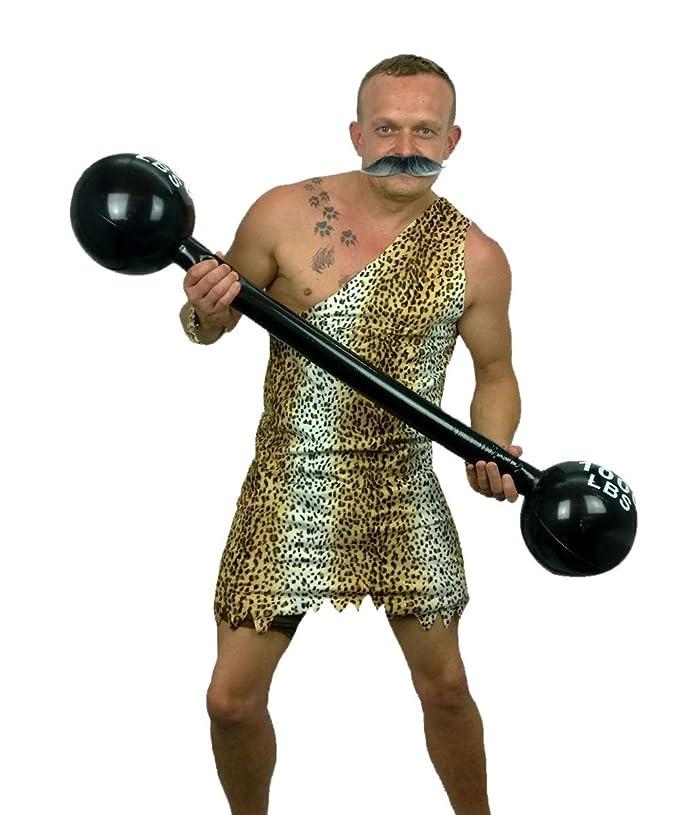 1930s Men's Costumes: Gangster, Clyde Barrow, Mummy, Dracula, Frankenstein 1920s Strongman Costume Tache & Weights Fancy Dress Complete Strong Man £24.95 AT vintagedancer.com