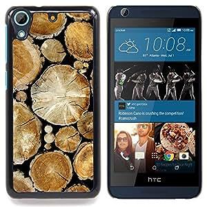 - Wood Pile Cut Trees Rainforest Nature - Caja del tel????fono delgado Guardia Armor- For HTC Desire 626 & 626s Devil Case