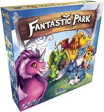 Blue Orange Games BLU90459 Nein Fantastic Park - Juego de Mesa (Contenido en alemán): Amazon.es: Juguetes y juegos