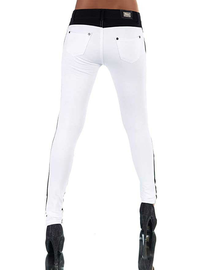 Damenmode G542 Damen Jeans Hose Hüfthose Damenjeans