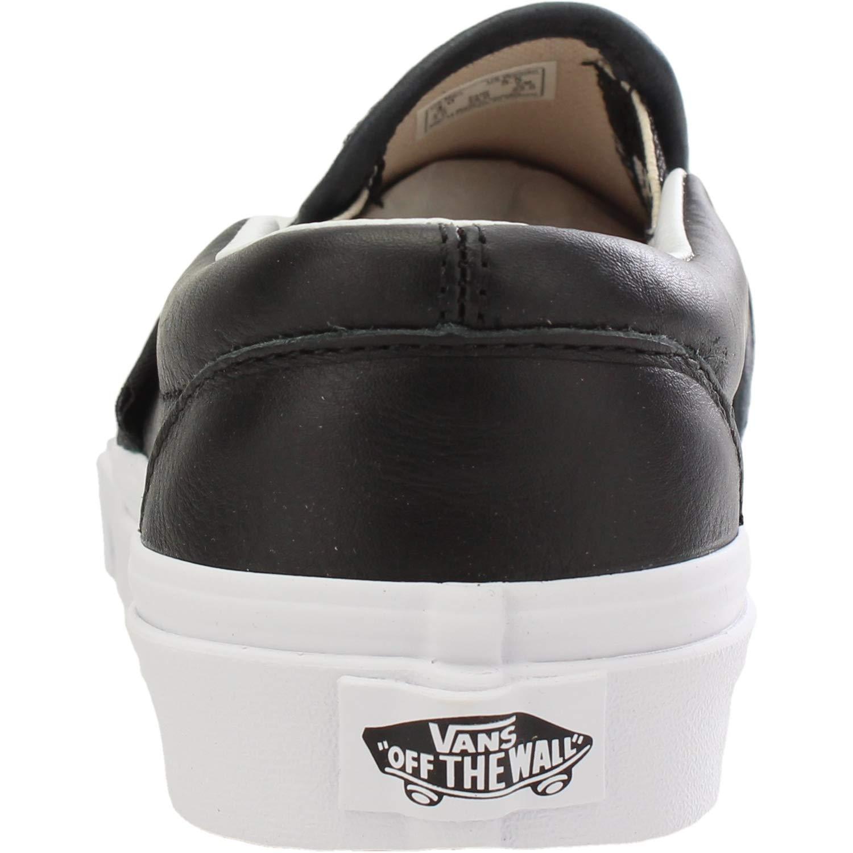Vans UA Classic Slip-On Negro Lurex Gore Adulto Entrenadores Zapatos: Amazon.es: Zapatos y complementos