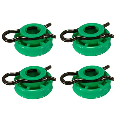 Carvicto 4 Pcs Green Front Window Regulator Roller Crank for Saab 9-3 900 9-5 1999 2000 2001 2002 2003 2004 2005 2006 2007-2010#4493433