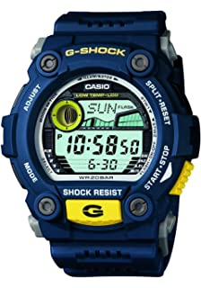 Casio Mens G-7900-2DR G-Shock Blue Resin Digital Dial Watch