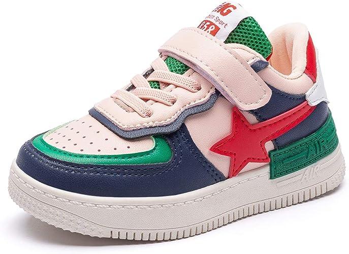 Zapatillas Niño Niñas Running Zapatos Deporte para Correr Sneakers Ligero Zapatillas de Gimnasia para Unisex-Niños 6711 Rosa 33: Amazon.es: Zapatos y complementos