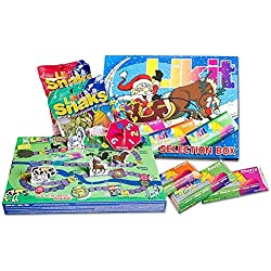 Likit Selection Box - Treat Your Favourite Horse Or Pony To This Great Slection Box - Perfect Christmas Present For Them - Contains 5 Different Types Of Treats