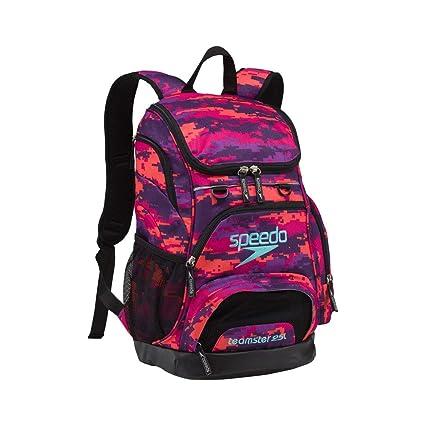 9582b45b918 Speedo Teamster Backpack, Camo Purple, Medium/25 L, Backpacks & Bags ...