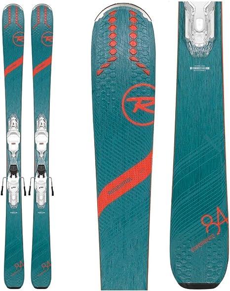 Rossignol – Pack de esquí Experience 84 AI W XP + Fijaciones XP W11 Gw Mujer Verde – Mujer – Verde: Amazon.es: Deportes y aire libre