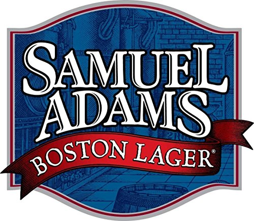 (Edwin Group of Companies Sam Adams Boston Lager Sticker | 3 Sizes Beer Bumper Bar Wall | Samuel Adams Sticker Laptop (4