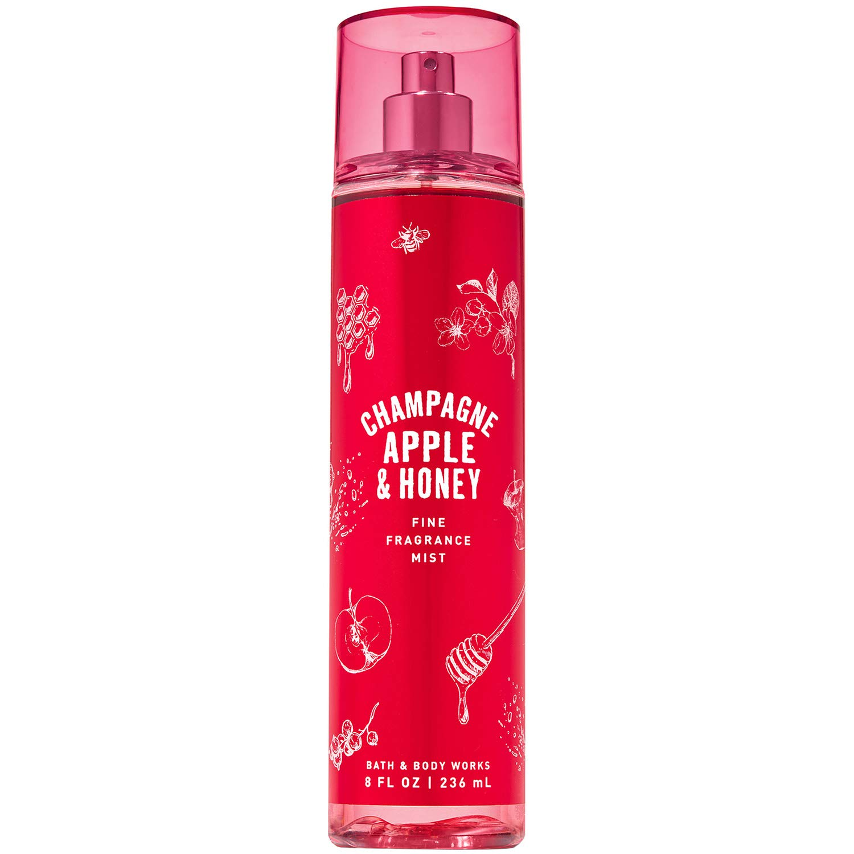 Bath and Body Works CHAMPAGNE APPLE & HONEY Fine Fragrance Mist 8 Fluid Ounce (2019 Edition)