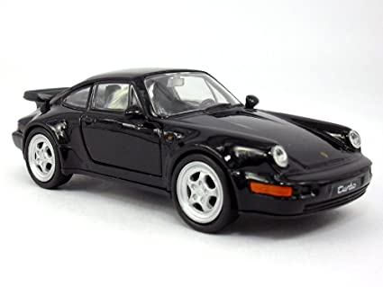 4.5 inch Porsche 911 / 964 Turbo Scale Diecast Model by Welly - Black