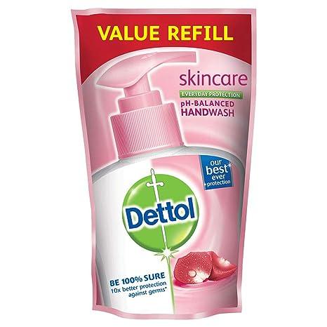 Dettol Skincare pH Balance Handwash Refill Pouch, 175ml