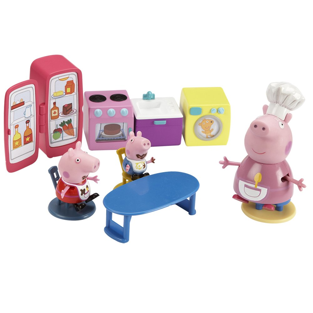 Character Options Peppa Pig Kitchen Playset: Amazon.co.uk: Toys & Games