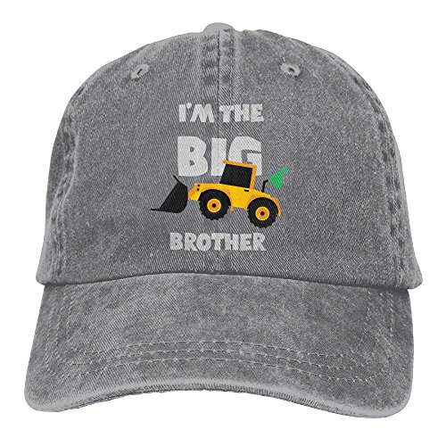 Youth Ash Gym (SUNFYYF I'm The Big Brother Mesh Cap Gym For Unisex Women Mans Ash One Size)