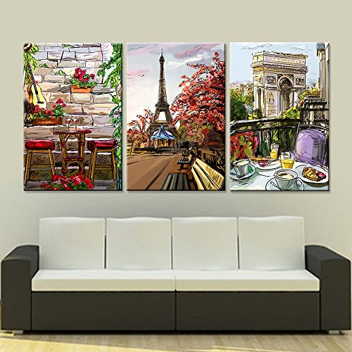 Paris City Home Decor Wall Art Picture - Paris wall decor