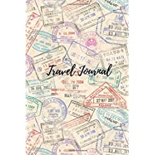 """Travel Journal: 6"""" x 9"""", lined journal, travel notebook , blank book notebook, durable cover,150 pages for writing notes"""