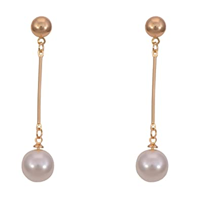 drop wedding fashion simulated party new long club jewelry women earrings dangle prom pearl accessories for