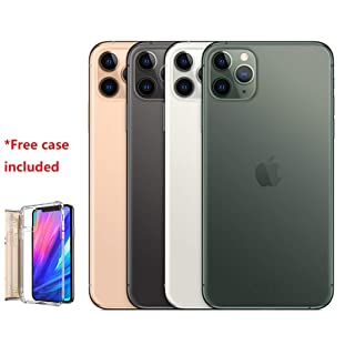 """Apple iPhone 11 Pro Max 6.5"""" Unlocked for All CDMA and GSM, Bundle with Free Case (512GB)"""