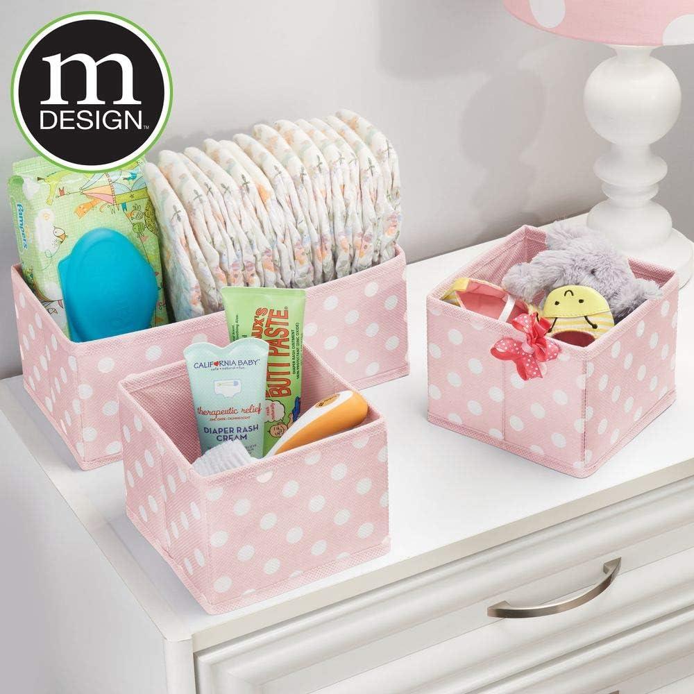 Amazon Com Mdesign Soft Fabric Dresser Drawer Closet Storage