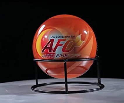 Afo Ball (Auto Fire Off) Fire Extinguisher By Titanic Fire Corporation