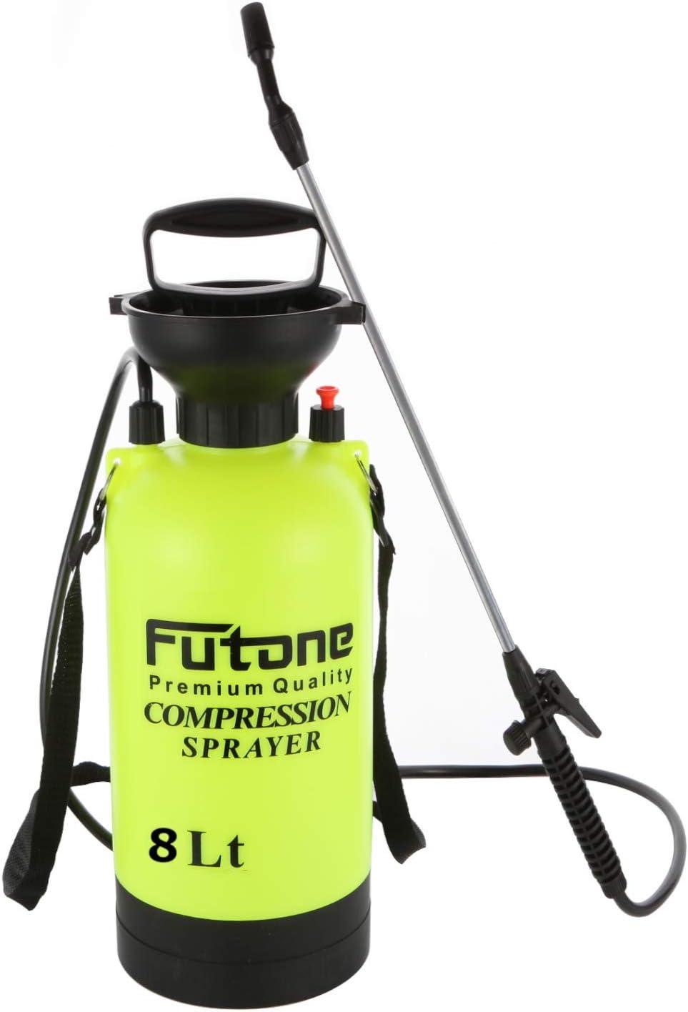 Futone 2.0 Gallon Garden Sprayer and Adjustable Shoulder Strap
