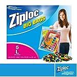 Ziploc Big Bags Bolsa, 5 litros