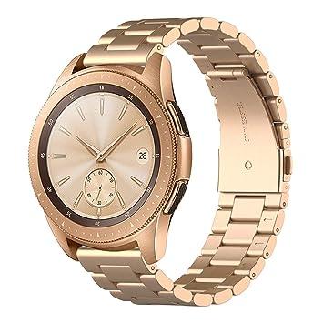 Simpeak Correa Compatible con Samsung Galaxy Watch Reloj (4.8 ...
