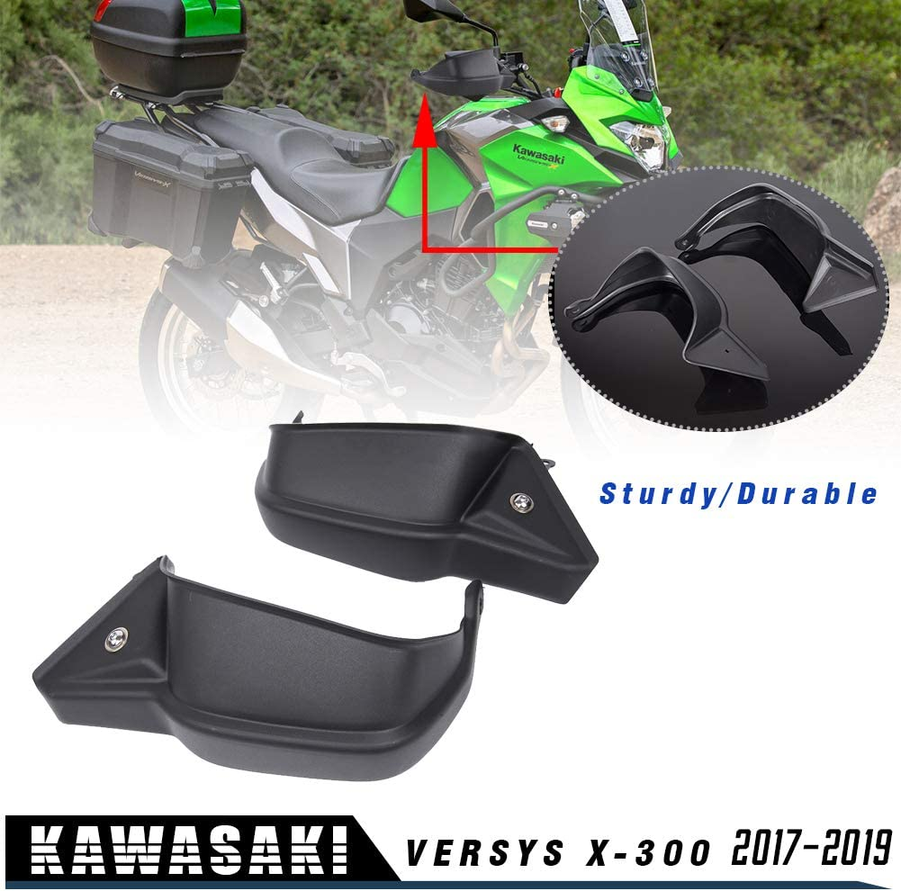 LJBusRoll Universal Motorcycle Handlebar Handguards Hand Guards Wind shield Motocross Protectors 22mm 7//8 for Kawasaki Suzuki Yamaha Honda Black