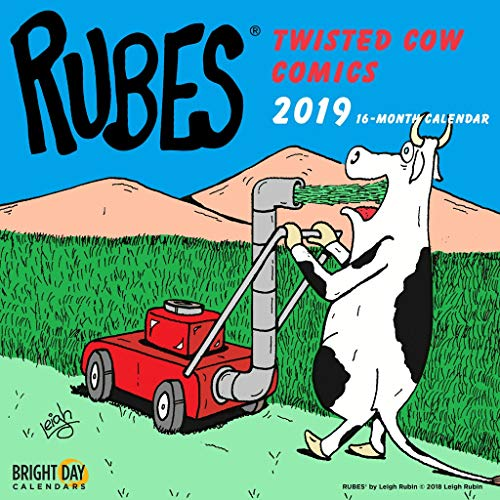 Rubes Wall Calendar by Bright Day Calendars 16 Month Wall Calendar 12 x 12 Inches (Rubes Twisted Cows Comics -
