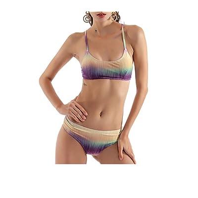 2018 New Split Bikini Gradient Split Swimsuit Bikini Swimwear