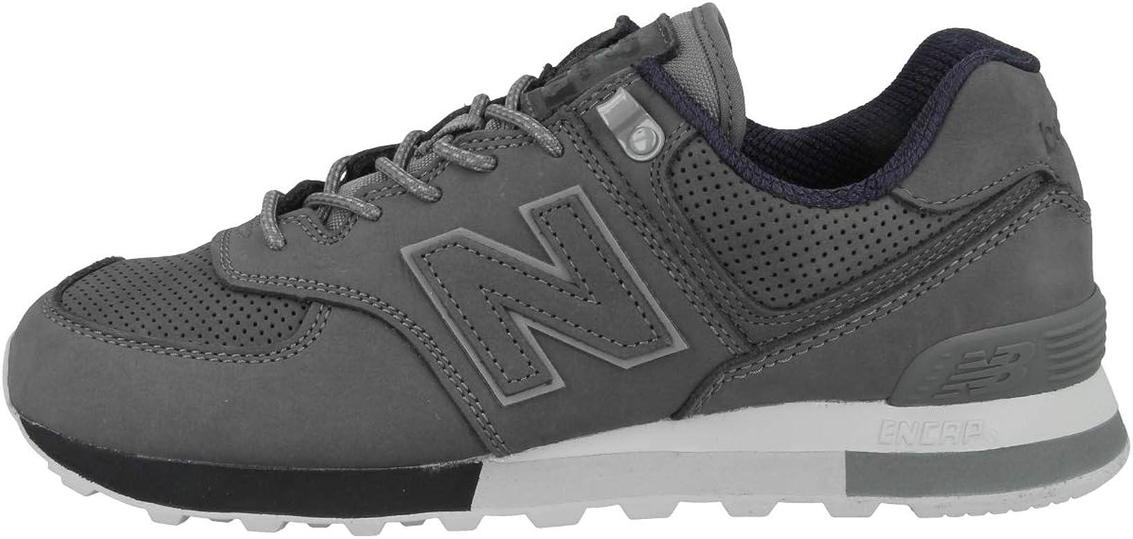 Ejercicio Implacable Maldito  New balance NBML574ENA Zapatos Hombre Gris 40½: Amazon.es: Zapatos y  complementos