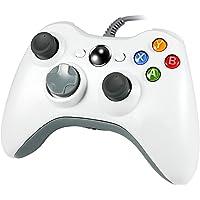 Wetoph Wired PC Controlador, GD03USB Gamepad con Auriculares Ranura para Xbox360y PC (Windows XP/7/8/10)