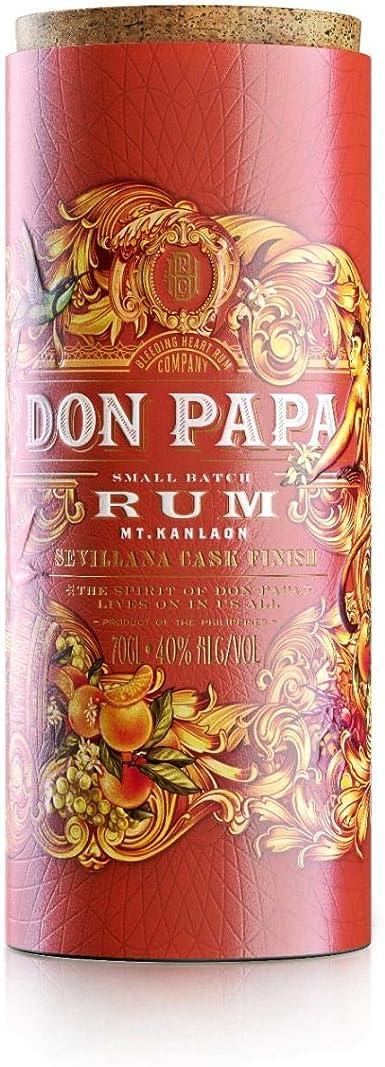 Ron Don Papa Sevillana Cask 40% 70 cl.: Amazon.es ...