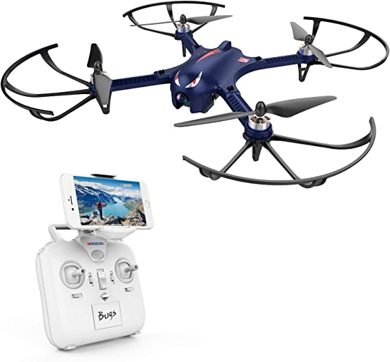 DROCON Bugs 3 Powerful Brushless Motor Quadcopter High Speed Flying Gopro Drone for Adults and Hobbyilists