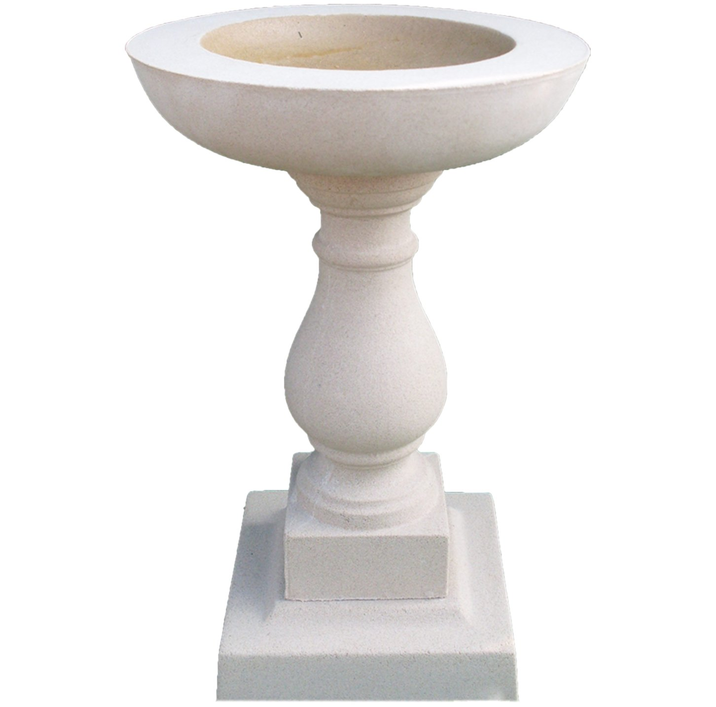 Garden Sculptures & Ornaments Classic Bird Bath Buff In Colour Made From Cast Stone TEL- 07446195317 UK Sculptures ABB3