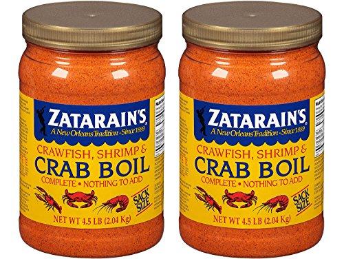 Zatarain's Zatarains Pre-Seasoned Crab and Shrimp Boil 72...