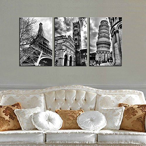 Famous architecture canvas wall art reoa real estate for Real estate office wall decor