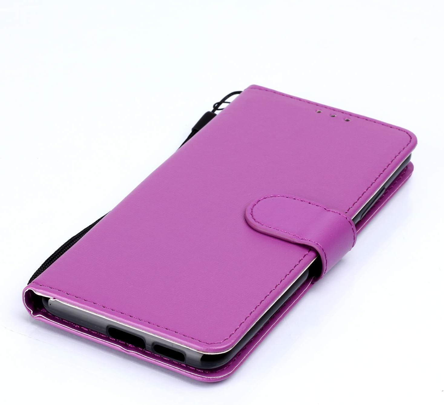 LOYHU250804 Purple Lomogo Xiaomi Mi 9T//Redmi K20 Case Leather Wallet Case with Kickstand Card Holder Shockproof Flip Case Cover for Xiaomi Mi9T