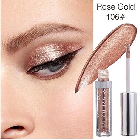 Buy BIMAGE Women's Eye Shadow Glitter Palettes, Cosmetic Shimmer