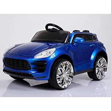 Porsche Macan Style Ride on Car with Parental Remote Control - Red: Amazon.es: Juguetes y juegos